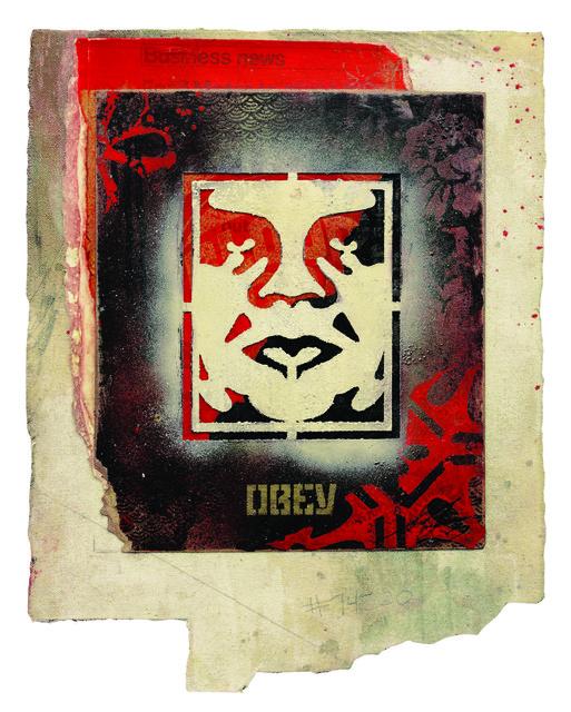 Shepard Fairey (OBEY), 'Icon Stencil', 2017, Underdogs Gallery