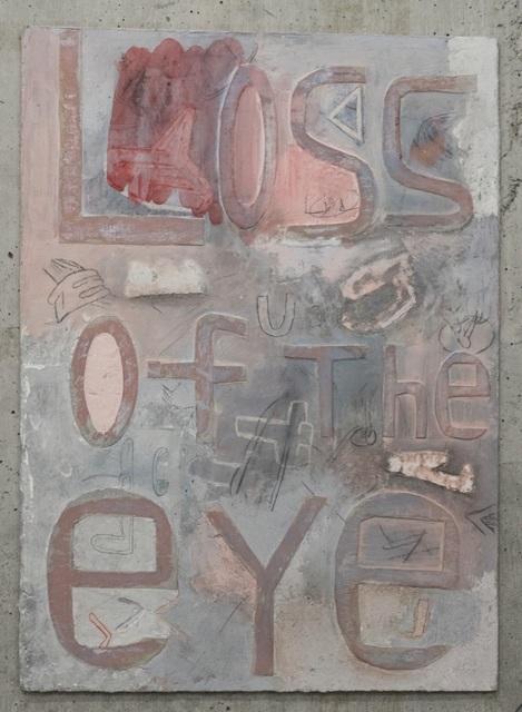 Moe Yoshida Veggetti, 'Loss of the eye', 2018, Mixed Media, Pencil, acrylic, papier maché on wood, GALLERY TAGA 2