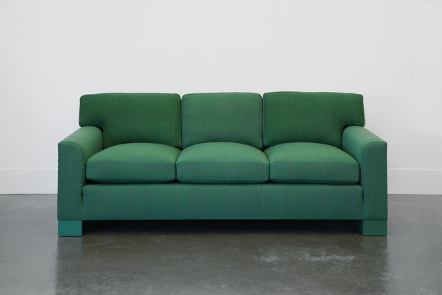 , 'Domestic Sofa in Green Handwoven Fabric,' 1989/2014, Domestic Furniture