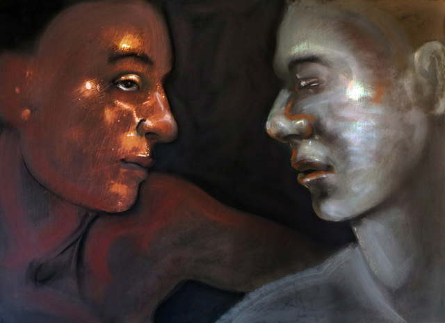, 'Lovers Series No. 26,' 2017-2018, Charles Nodrum Gallery
