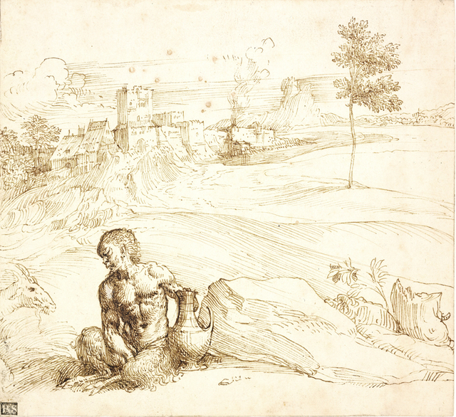 , 'Landscape with a Satyr,' ca. 1500, The Frick Collection