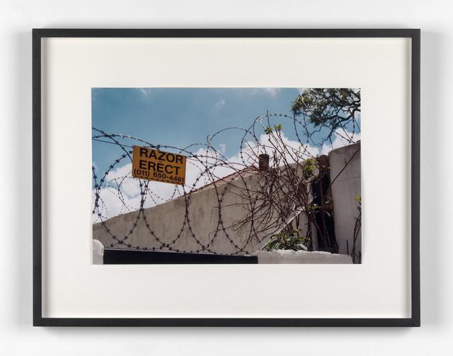 Kendell Geers, 'Suburbia 20', 1999, Stephen Friedman Gallery