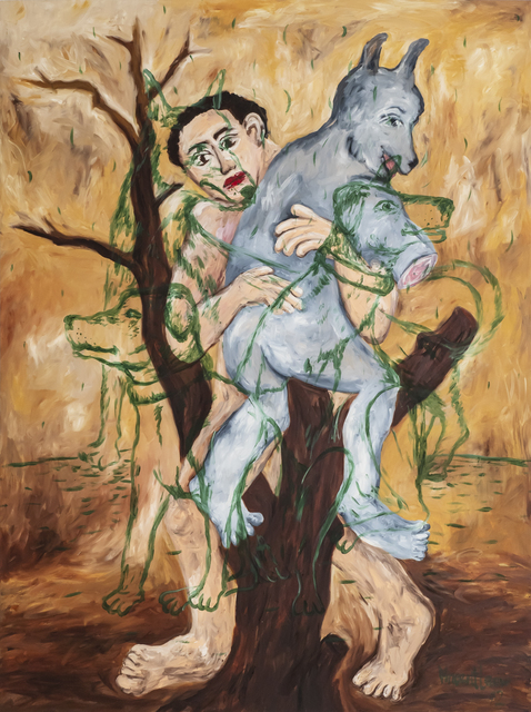 , 'Cry Wolf,' 2012, iPreciation