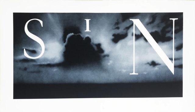 Ed Ruscha, 'Sin - Without', 2002, David Benrimon Fine Art