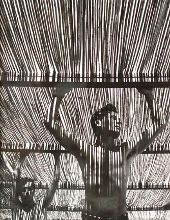Herbert List, 'Young Men Under Reed Roof, Torremolinos, Spain', 1951, Fahey/Klein Gallery