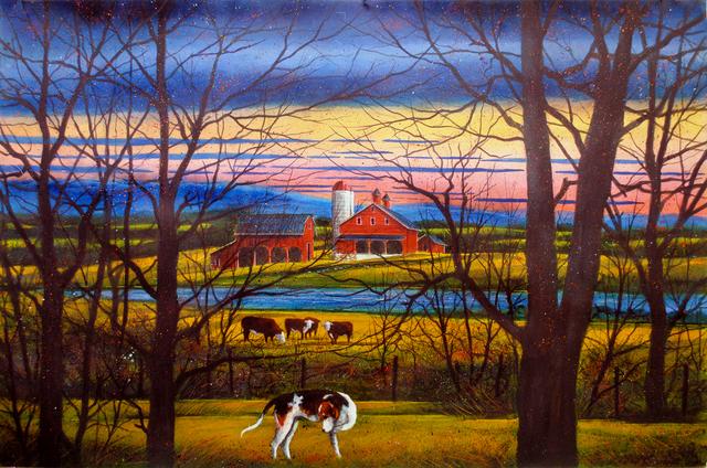 , 'Livestock – Late Night,' 2014, Greg Thompson Fine Art