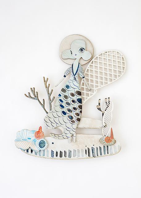 , 'Diving Bell,' 2018, Spoke Art