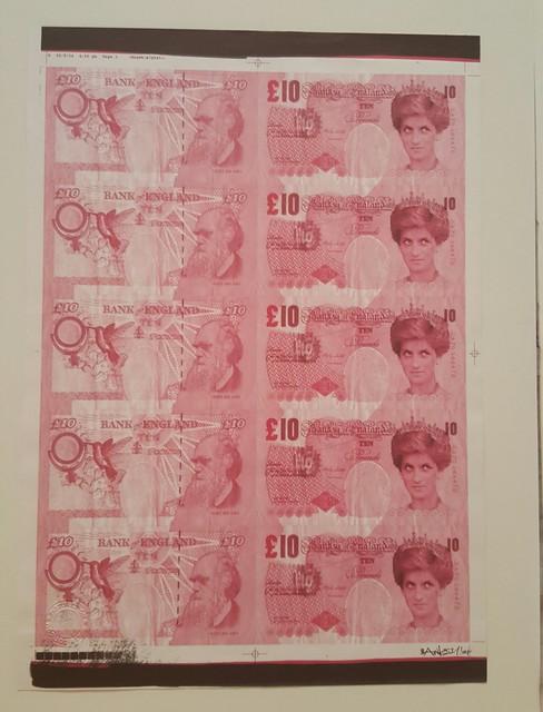 Banksy, 'Di Faced Tenners AP', 2004, Carmichael Gallery