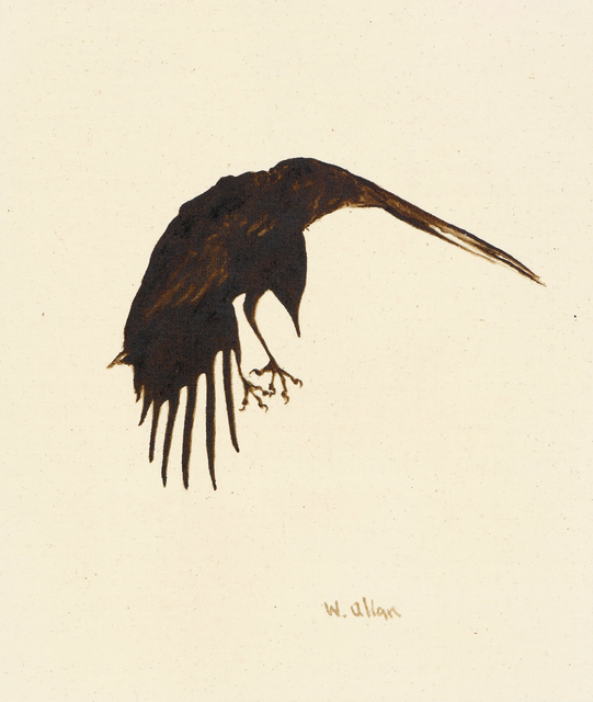 , 'Crow #14,' 2016, Anglim Gilbert Gallery
