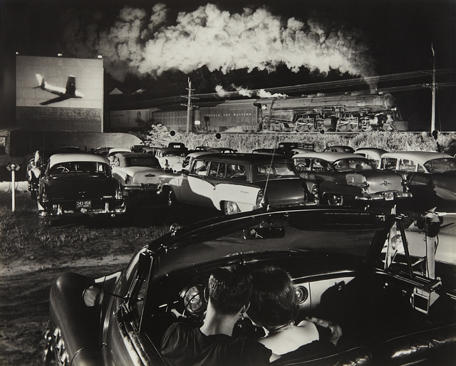 O. Winston Link, 'NW1103, Hot Shot Eastbound at the Iaeger Drive-in, West Virginia', 1956, Phillips