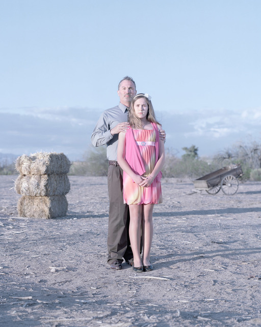 , 'Tom Cortes & Calee Cortes, 12 years. Surprise, Arizona.,' , Pictura Gallery