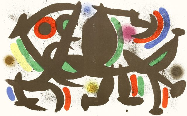 Joan Miró, 'From Lithographies I (Mourlot 860, 863, 864)', 1972, Sworders