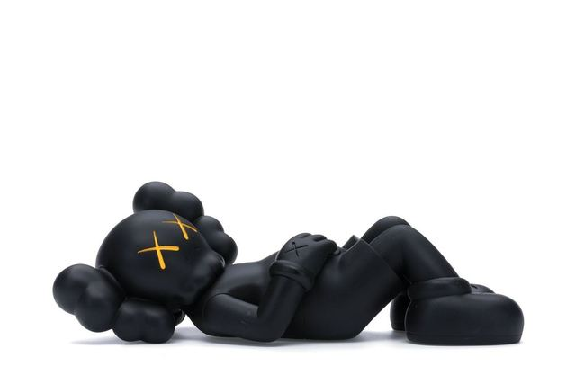 "KAWS, 'Holiday Japan 9.5"" Vinyl Figure (Black)', 2019, Lougher Contemporary"