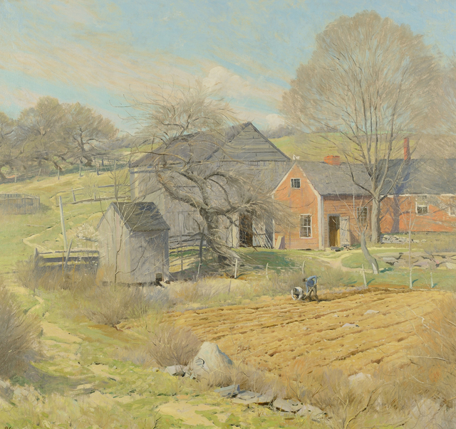 , 'Red House, Rindge, NH,' ca. 1932-35, Caldwell Gallery Hudson