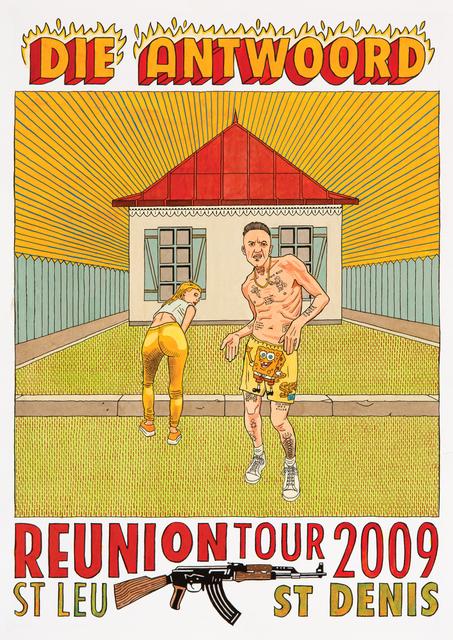 , 'Die Antwoord Reunion Tour Poster,' 2017, HUBERTY & BREYNE GALLERY
