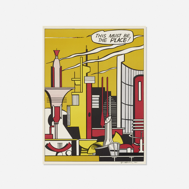 Roy Lichtenstein, 'This Must Be The Place', 1965, Print, Offset lithograph on wove paper, Rago/Wright