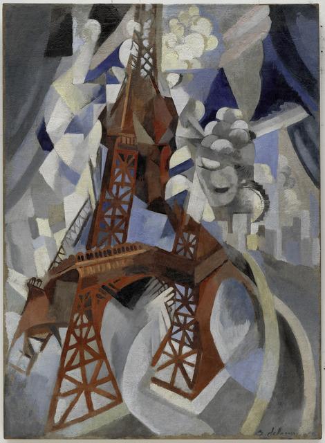 , 'La tour rouge,' 1911-1912, Guggenheim Museum Bilbao