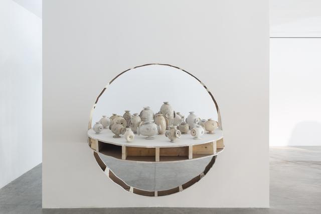 ", 'Occupation (wall) ""white"",' 2018, Friedman Benda"