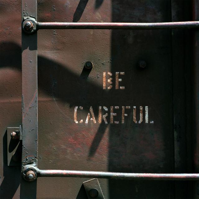 , 'Be Careful, Denver, Colorado,' 1990, Robert Mann Gallery
