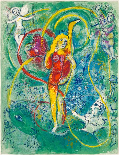 Marc Chagall, 'Le Cirque M. 492', 1967, Print, Lithograph, Galerie d'Orsay