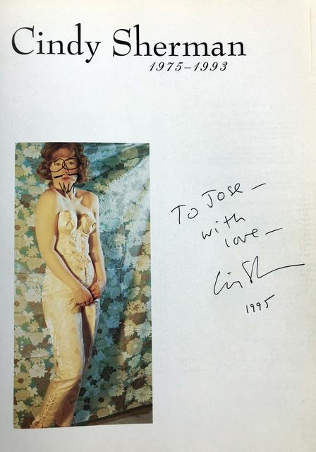 Cindy Sherman, 'Signed Cindy Sherman monograph  ', 1993, Lot 180