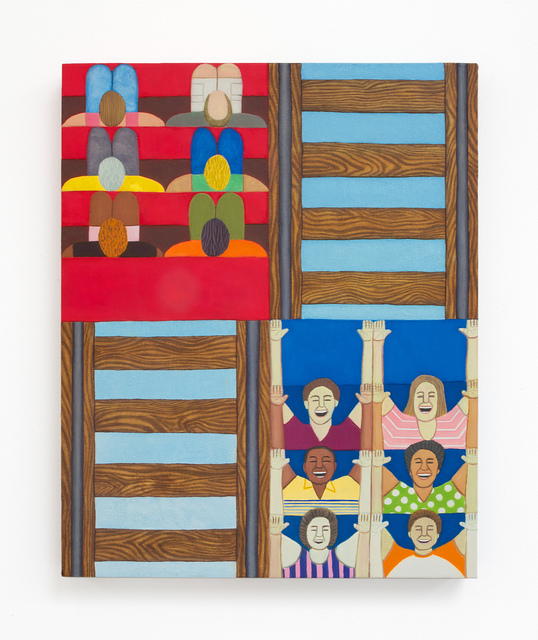 , 'Roller Coaster,' 2018, VARIOUS SMALL FIRES