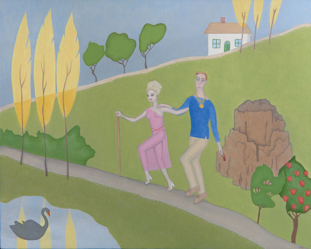 , 'Help in Wonderland,' 2017, Dolby Chadwick Gallery
