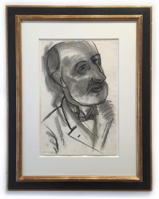 , 'Portrait du peintre Pallady,' 1939, Leslie Feely