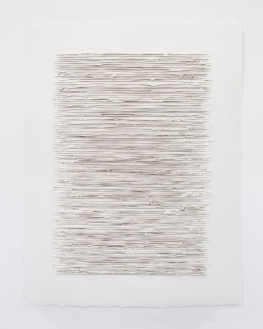, 'Color structure #06 (titan buff),' 2018, Anne Mosseri-Marlio Galerie