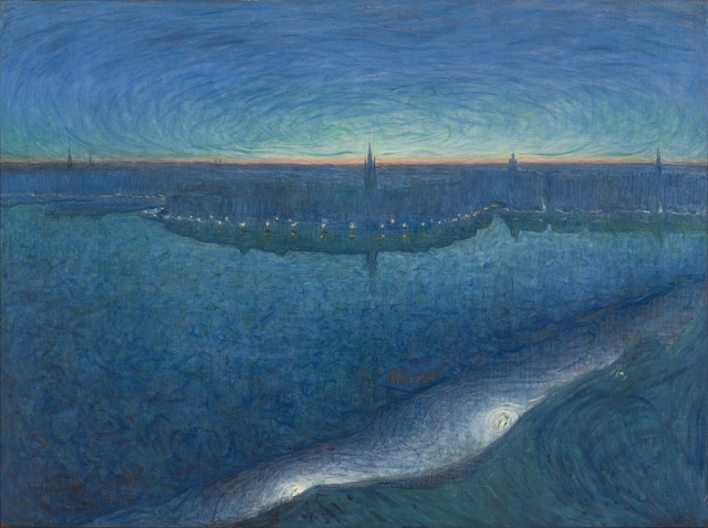 , 'Dawn over Riddarfjarden,' 1899, Art Gallery of Ontario (AGO)