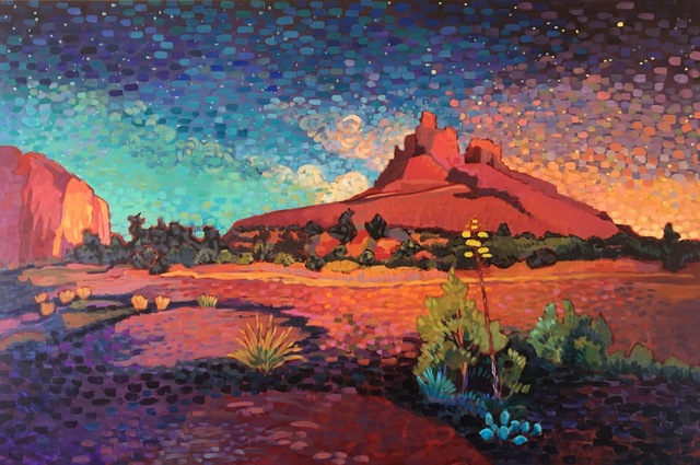 ", '""Starry Sunset"" ,' 2017, Bonner David Galleries"