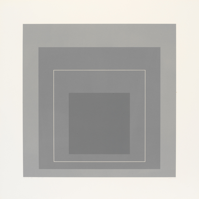 Josef Albers, 'WLS II', 1966, Print, From a portfolio of 8 three-colour aluminium plate lithographs on hand-cut Arches Cover paper, Cristea Roberts Gallery