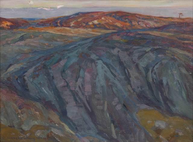 Charles Herbert Woodbury, 'Evening', 1910, Vose Galleries