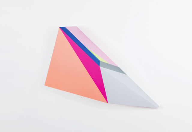 , 'Polygon in space #22,' 2015, Muriel Guépin Gallery