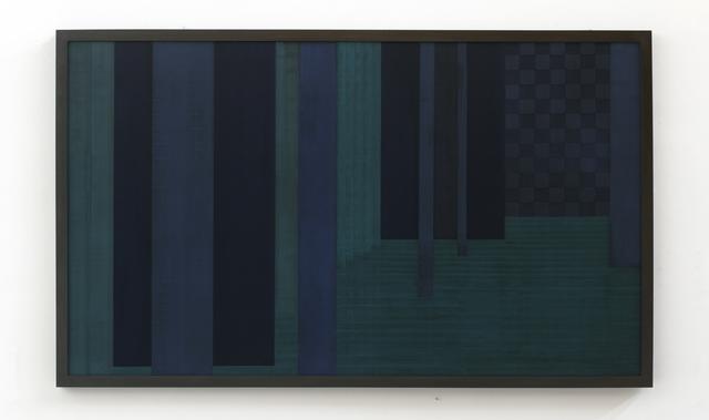 , 'Sintropic Maze - series I (Corner 6) - Blue,' 2016, Zipper Galeria