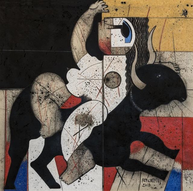 Saâd Ben Cheffaj, 'Le Rapt d'Europe', 2018, L'Atelier 21