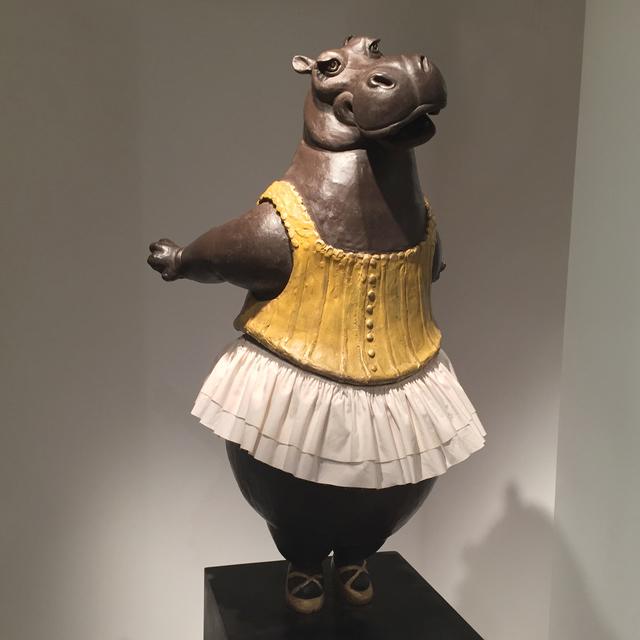 , 'Hippo Ballerina, tiptoe,' 2016, Cavalier Galleries