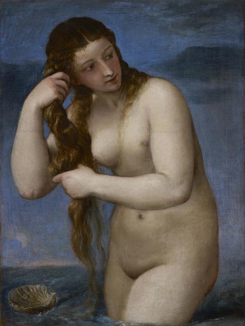 Titian, 'Venus Rising from the Sea (â??Venus Anadyomeneâ??)', 1520, Royal Academy of Arts