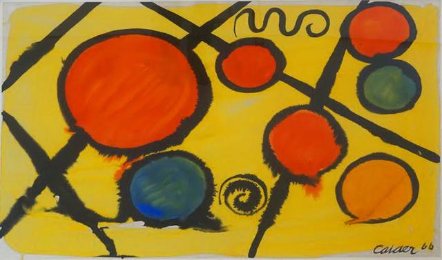 Alexander Calder, 'Untitled', 1966, David Benrimon Fine Art