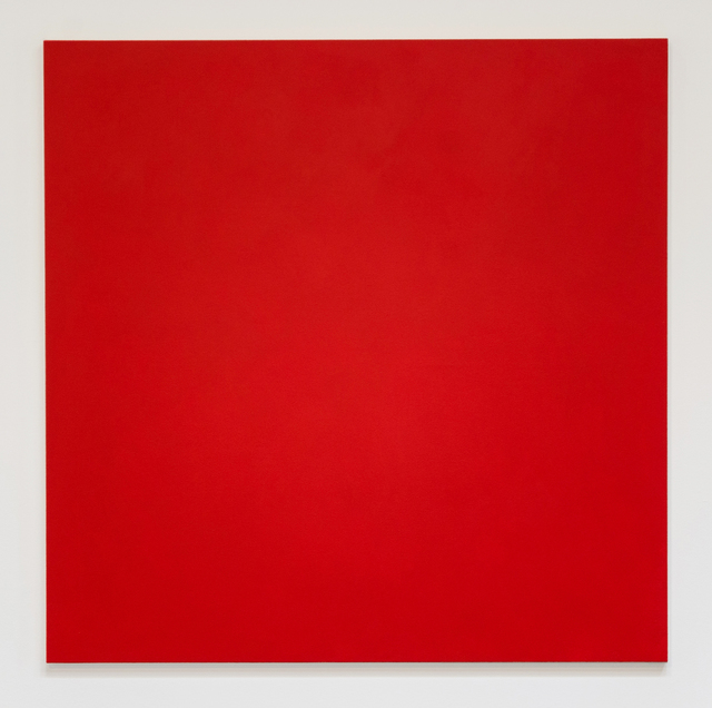 , 'Untitled (Vermillion),' 2016, Christopher Grimes Gallery
