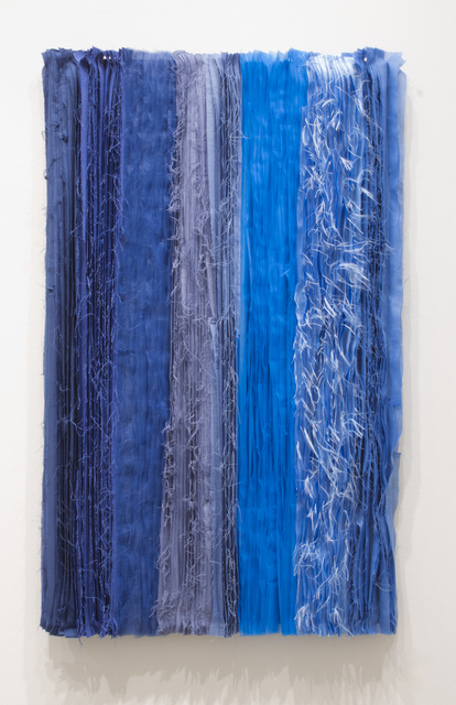 Joël Andrianomearisoa, 'Blue take me to the end of all loves (11)', 2019, Primo Marella Gallery