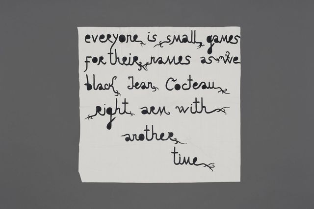 , 'Everyone is small games,' 2015, Jérôme Poggi