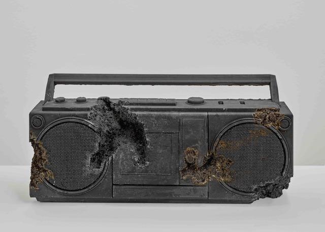 , 'Steel Eroded Radio,' 2013, Galerie Ron Mandos