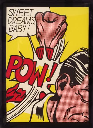 Roy Lichtenstein, 'Sweet Dreams Baby from 11 Pop Artists', 1969, Woodward Gallery