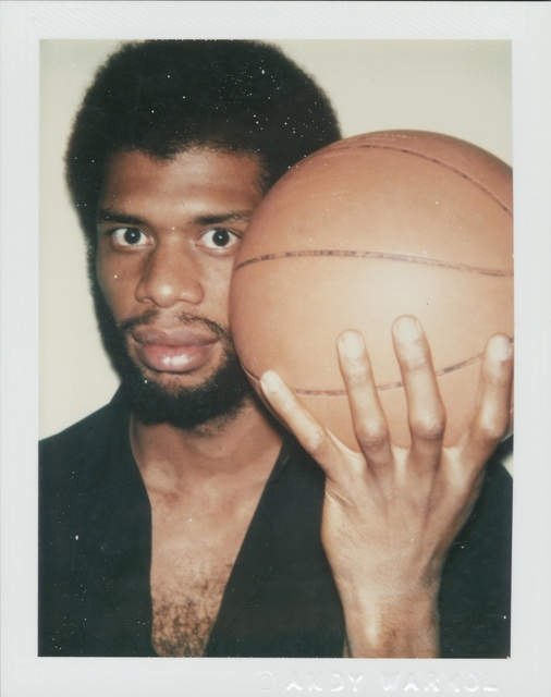 Andy Warhol, 'Polaroid Photograph of Kareem Abdul-Jabbar', 1978, Hedges Projects
