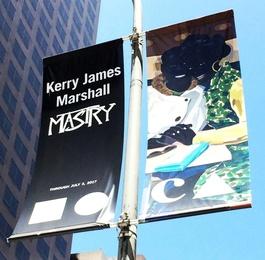 MOCA LA Street Banner (Museum of Contemporary Art, Los Angeles)