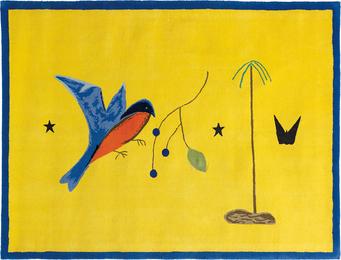 Craigie Aitchison, 'Blue Bird Yellow Landscape,' 2009, Phillips: Evening and Day Editions