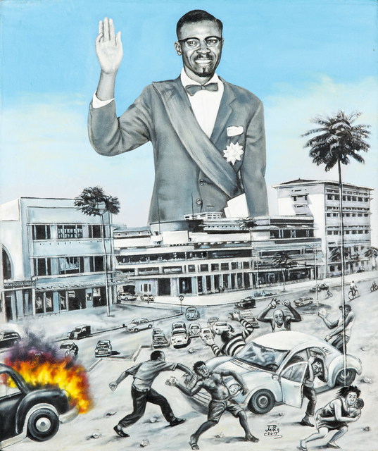 , 'La révolution,' 2013, Africa Bomoko