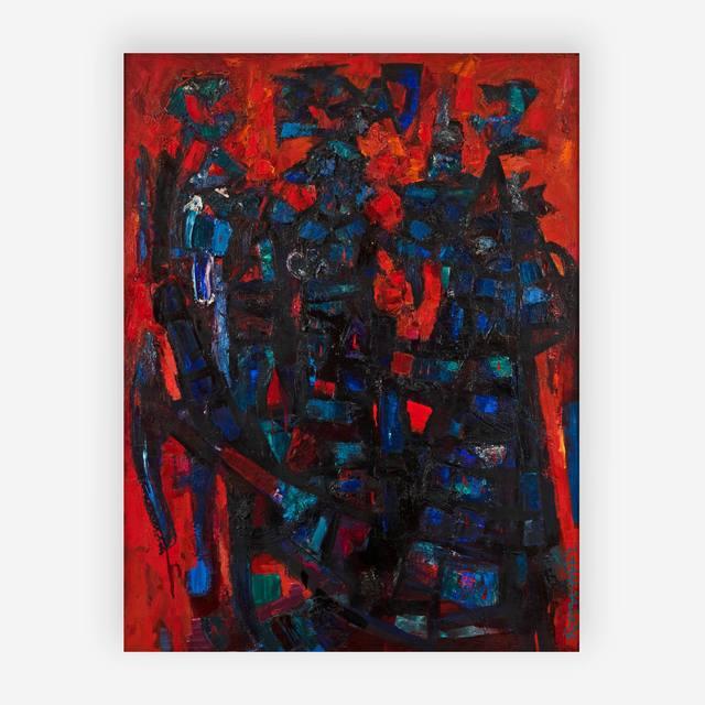 Abraham Rattner, 'Gargoyles No. 4', 1959, Capsule Gallery Auction
