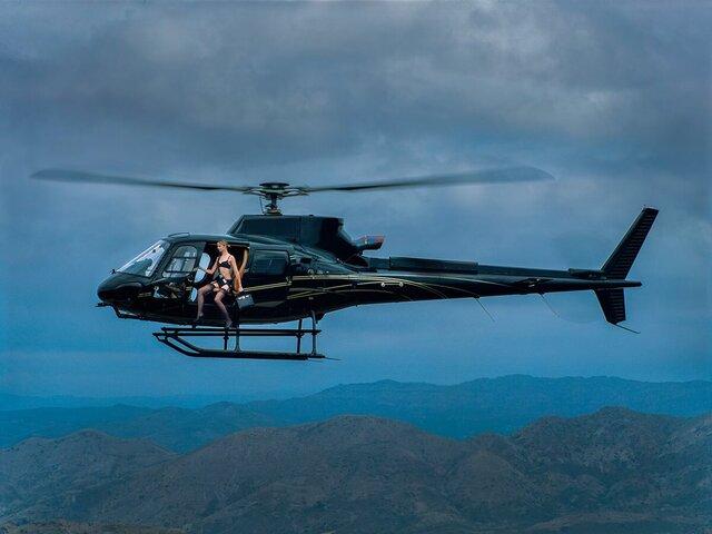 Tyler Shields, 'Helicopter', 2021, Photography, Chromogenic Print, Samuel Lynne Galleries